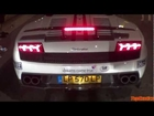 Lamborghini Performante Revs to the LIMITER! - 2012 Cannonball 2000