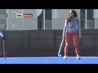 Kate Middleton has SEXY Legs and Shows Them OFF Playing Field Hockey
