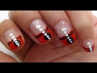 Nail Art Tutorial For Beginners - Magic of Red & White