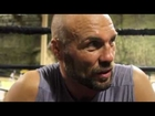 Randy Couture UFC 118 Pre-Fight Interview, Wanted To Welcome James...