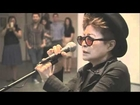 Yoko Ono Screaming Song Live at Art Show! (Original) Very Bizarre... YOKOROLL'D