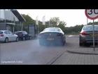 Ferrari 612 Scaglietti: Revving & WHEELSPIN acceleration!