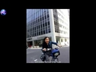 Aaron Aziz Cycling Around Wall Street New York City Yeay!