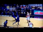 Ole Miss - Marshall Henderson bank shot off two MTSU players... nothing but net!