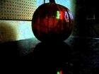 70 LEDs inside a Jack-'o-lantern