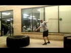 Brutal Iron Gym - One Arm Sledgehammer Swings