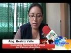 La Abg. Beatriz Valle nos informa sobre el avance del trabajo del ECU 911