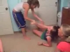 Girl on Girl Wedgie Fight