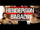 Dan Henderson vs Babalu Sobral II Fight Video!