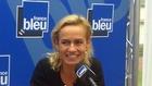 Sandrine Bonnaire à Deauville, sur France Bleu