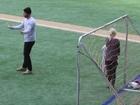 Liev Schreiber And Naomi Watts Soccer Skills