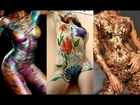 Artistic Body Painted Girls: